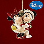 Lenox 2007 Disney Mickey & Minnie's 1st Christmas Together Ornament: Romantic Gift Idea