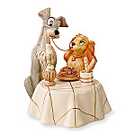 Lenox Disney Lady And The Tramp Figurine
