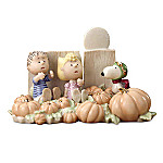 Lenox Peanuts The Great Pumpkin Patch Collectible Figurine With Linus, Sally And Snoopy