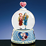 I Love Lucy, Lucy & Ethel Best friends Water Globe Music Box