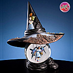 Wizard Of Oz Wicked Witch Hat with Dorothy and Flying Monkeys Water Globe Music Box