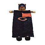 Chicago Bears Collectible Plush Mascot Sleeping Bag