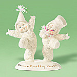 Department 56 Snowbabies Dance A Birthday Dance! Figurine Birthday Gift