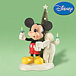 Department 56 Snowbabies Disney A Mickey Melody Figurine