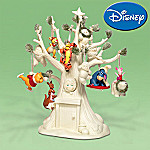 Department 56 Snowbabies A Very Pooh Christmas, Unique Tree And 10 Ornaments Figurine Set