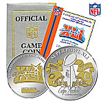 Super Bowl XLI Collectible Two Tone Replica Flip Coin