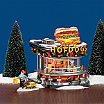 Department 56 Original Snow Village: Franky's Hot Dogs Village