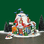 Department 56 North Pole Series Village: North Pole Snow Bank Village