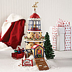 Department 56 North Pole Series: Light The Way Santas Beacon Collectible Village