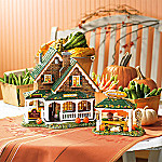 Department 56 Original Snow Village: Harvest Farm Roadside Sales & Produce Stand Set