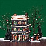 Department 56 Christmas In The City Jambalaya Cafe Village Building