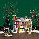 Department 56 New England Village Union Oyster House Village Building