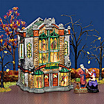 Department 56 Snow Village Halloween: Zeldas Wax Museum Halloween Collectible Village