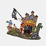 Department 56 Snow Village Ship Of Sea Phantoms Halloween Village Accessory