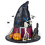 Department 56 Accents Holiday Illuminations Halloween Village: Witchs Hat Scene