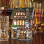 Department 56 Accents Cheers Series: German Beer Hall Scene Collectible Village