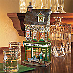 Department 56 Accents Cheers Series: Irish Pub Scene Collectible Village