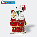 Department 56 Peanuts Snoopy And Woodstock Merry Christmas To You Jeweled Box