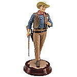 Collectible John Wayne Memorabilia Figurine