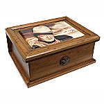 Collectible John Wayne Memorabilia Wood Box