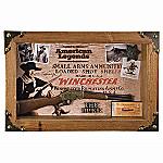 Collectible John Wayne And Winchester Memorabilia Shadow Box Wall Decor