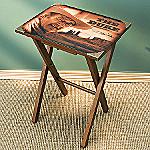 Collectible John Wayne Memorabilia TV Tray