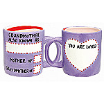 Our Name Is Mud DIY Grandma Mug Gift Set: Personalized Gift For Grandmothers
