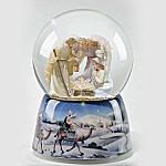 Seraphim Classics Nativity Scene Musical Snowglobe