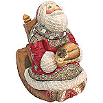 Christmas Santa Claus Collectible Animated Musical Figurine: Afternoon Nap Santa