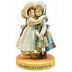 Holly Hobbie Friendship Is A Treat For Two Figurine