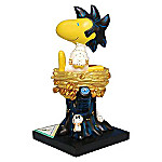 Hound Dog Woodstock Collectible Peanuts Figurine
