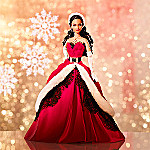 2007 African-American Holiday Barbie Doll