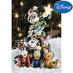 Collectible Disney Mickey Mouse & Friends Christmas Tree Figurine: Unique Christmas Decor