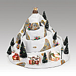 Mr. Christmas Winter Wonderland - Holiday Hill Illuminated Animated Music Box