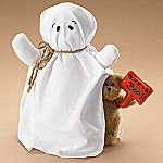 Boyds Ghoulia & Little Boo Plush Teddy Bear Halloween Decoration And Gift