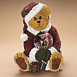 Boyds Teddy Bear Santa Claus And Friends, Holiday Magic Musical Christmas Snowglobe