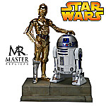 C-3PO & R2-D2 From Star Wars Episode IV ARTFX Statue Collectible Movie Prop Replica