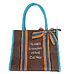 Cat Hair Canvas Tote Bag