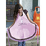Cat Hair Kitchen Apron