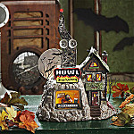 Department 56 Collectible Snow Village Halloween Howl Radio Village Building