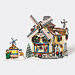 Department 56 Original Snow Village The Dutchmans Pancake House Village Building