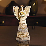 Elements(TM) Collectible Sister Angel Wood And Pewter Figurine: Gift for Sisters