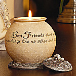 Comfort Candles Comfort To Go(TM) Best Friends Candleholder: Friendship Gift