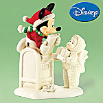 Department 56 Snowbabies Disney-Themed Special Delivery From Mickey And Me Figurine