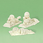 Department 56 Snowbabies Slumber Party Friends Collectible Figurine Set