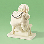 Department 56 Snowbabies Mom Always Said To Accessorize Figurine