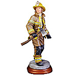 Female Firefighter Tribute Collectible Figurine: Willing And Able