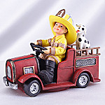 Just Like Dad Little Firefighter Recruit Collectible Figurine: Lit' Recruit #1
