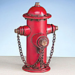 Firefighter Collectible Fire Hydrant Bank: Fireman Gift