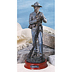 Civil War Collectible Confederate Soldier Sculpture